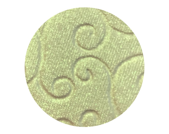 ELECTRICITY - Pressed Highlighter Pigment- iridescent lime green