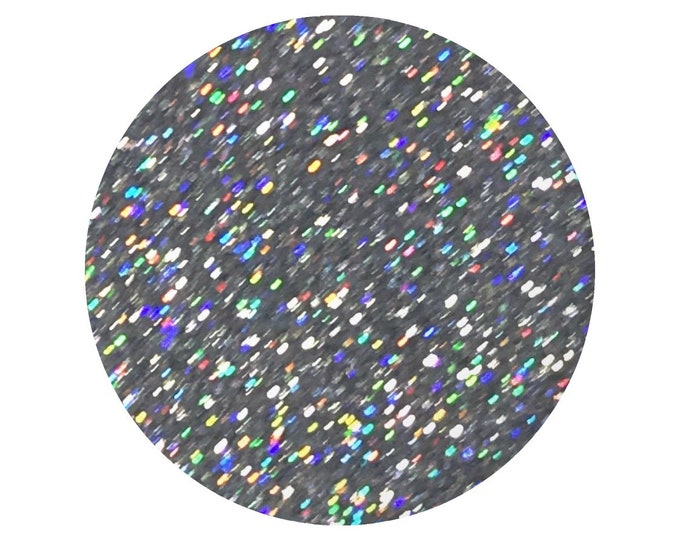 SILVER HOLO - loose cosmetic grade glitter - holographic