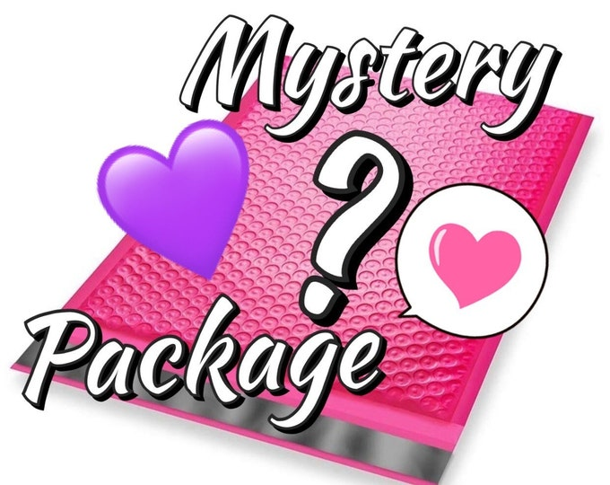 MYSTERY BEAUTY PACKAGE - guaranteed at least 40.00 worth of goodies - mystery surprise box