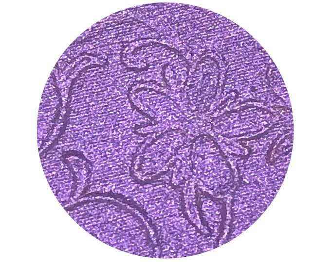 MORNING GLORY (Bloom & Glow) -  pressed highlighter pigment- Duochrome Purple with a pink shift