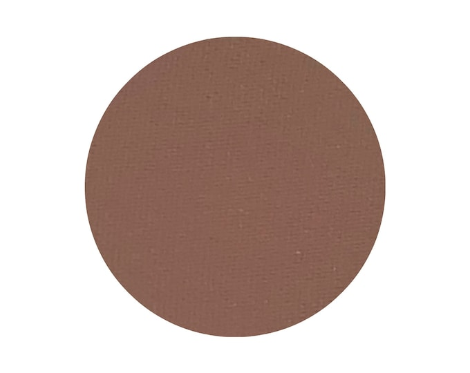 CINNAMON CAPPUCCINO - Pressed Matte Eyeshadow pigment - Cool toned medium brown