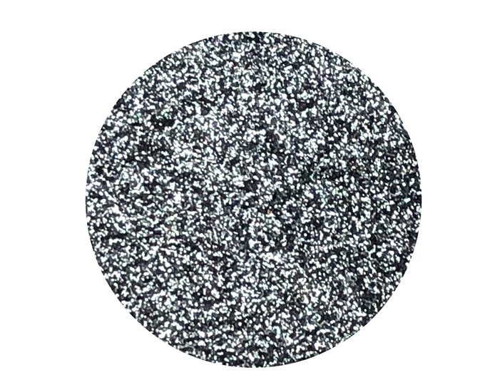 GUNMETAL GLITZ - Pressed Eyeshadow Pigment- Super sparkly gunmetal grey