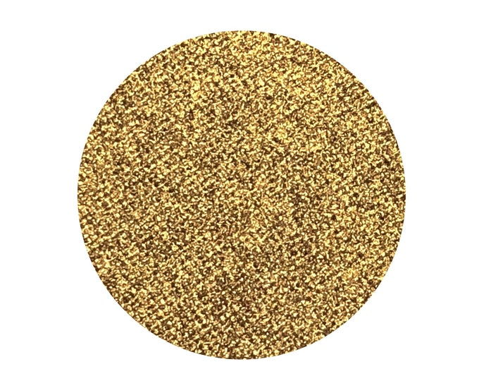 24K - Pressed Foiled Eyeshadow Pigment - Rich Metallic Warm Bronzed Gold