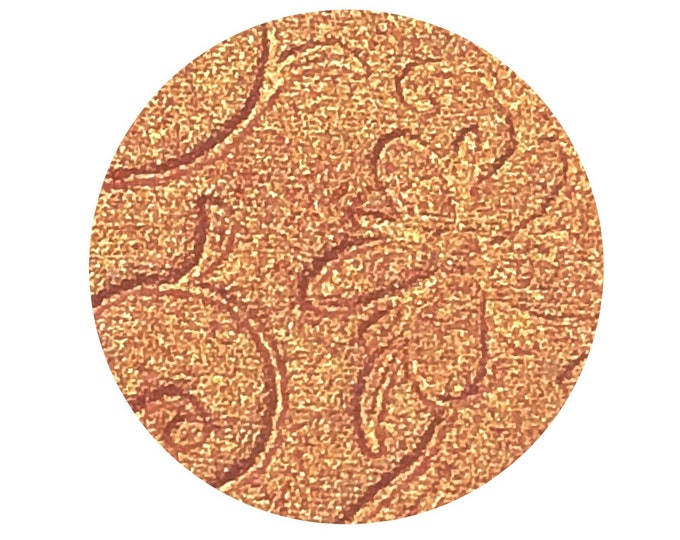 CALLA LILY (Bloom & Glow) - Pressed Highligher Pigment- Duochrome Coral with a Gold shift
