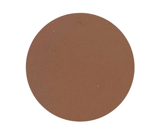 CARAMEL FUDGE - Matte - Pressed eyeshadow pigment - warm mid tone brown / caramel