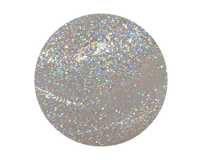 RAINBOW TEARS - Glitter Gel - Holographic Pastel Rainbow - Face / Hair / Body cosmetic grade glitter