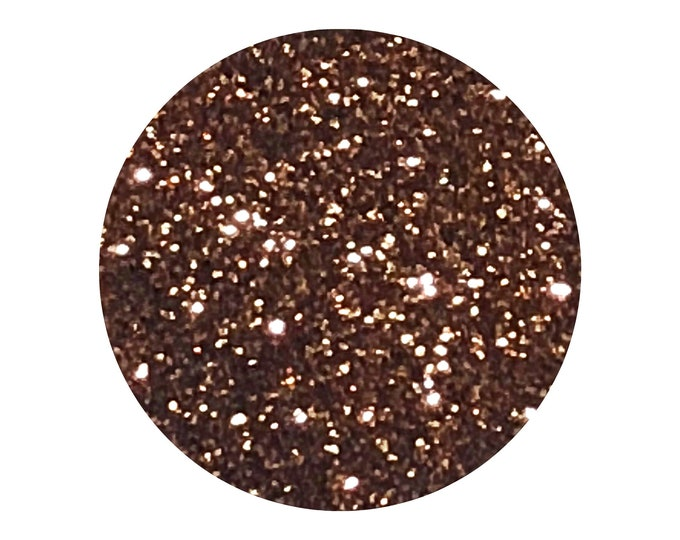 ROSALIE - loose cosmetic grade glitter - Rose Gold