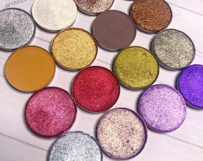 SINGLE EYESHADOW COLLECTION- All 32 shades of Mattes / Shimmer / Foiled