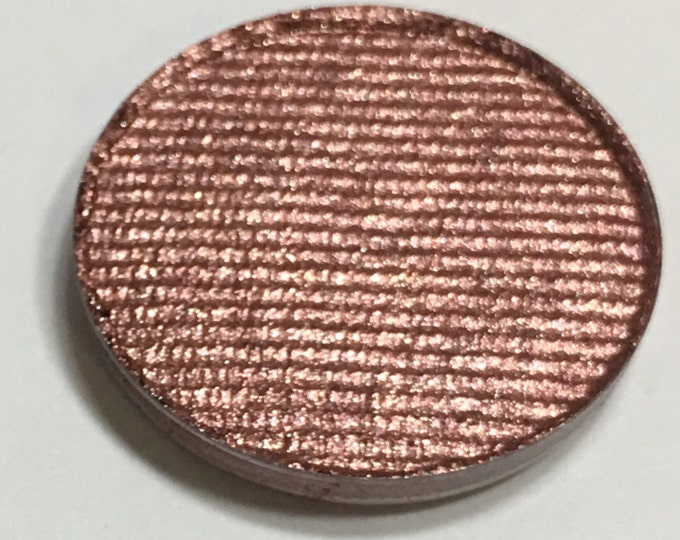 ROSIE'S GOLD- Pressed Eyeshadow Pigment - shimmer deep pink / red with gold reflects