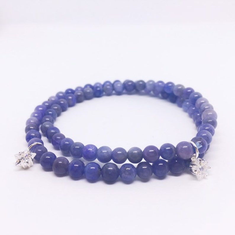 Tanzanite Bracelet December Birthstone Jewelry 8th image 0