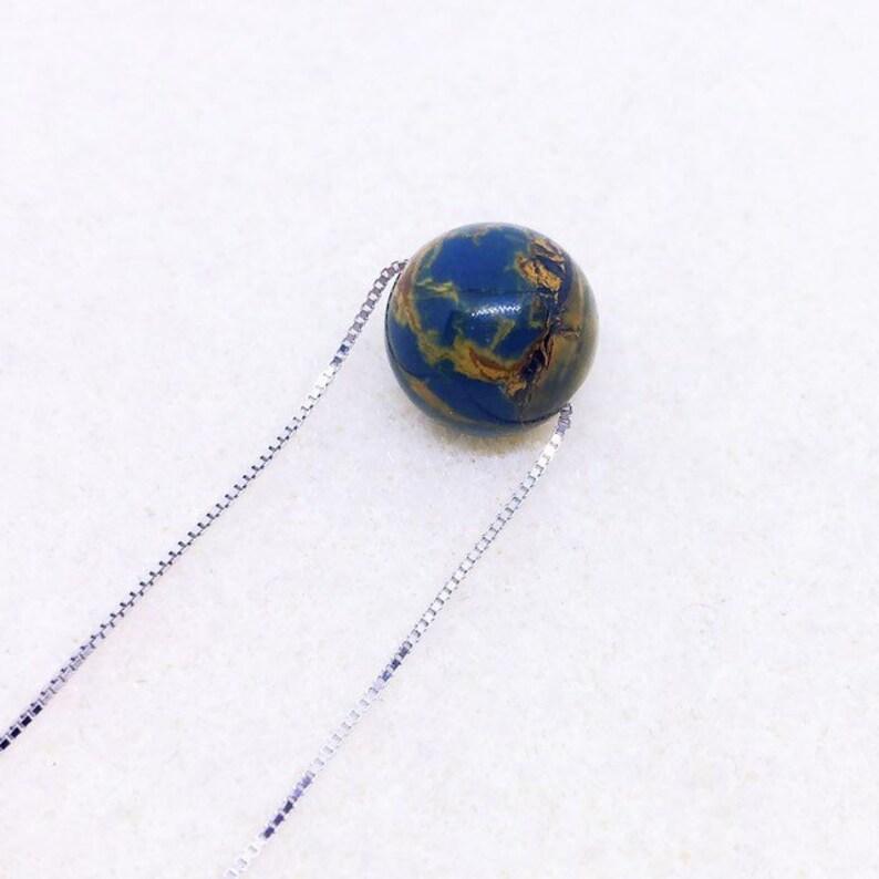 Pietersite Necklace AAA Pietersite Jewelry Planet Necklace image 0
