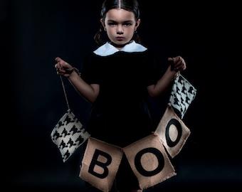 Ready to ship Wednesday Addams Girls Dress