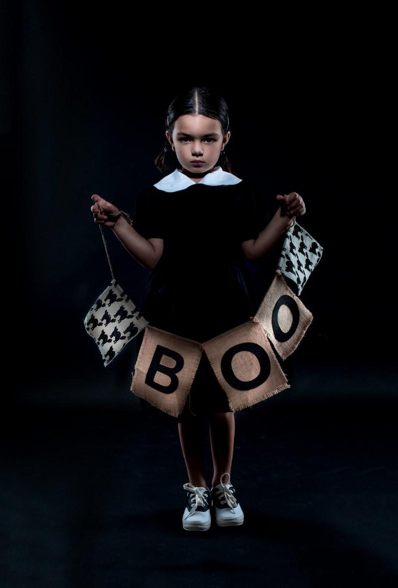 Wednesday Addams Girls Dress image 0