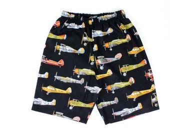 SPRING SALE!!Boy's 1950's Airplanes Shorts
