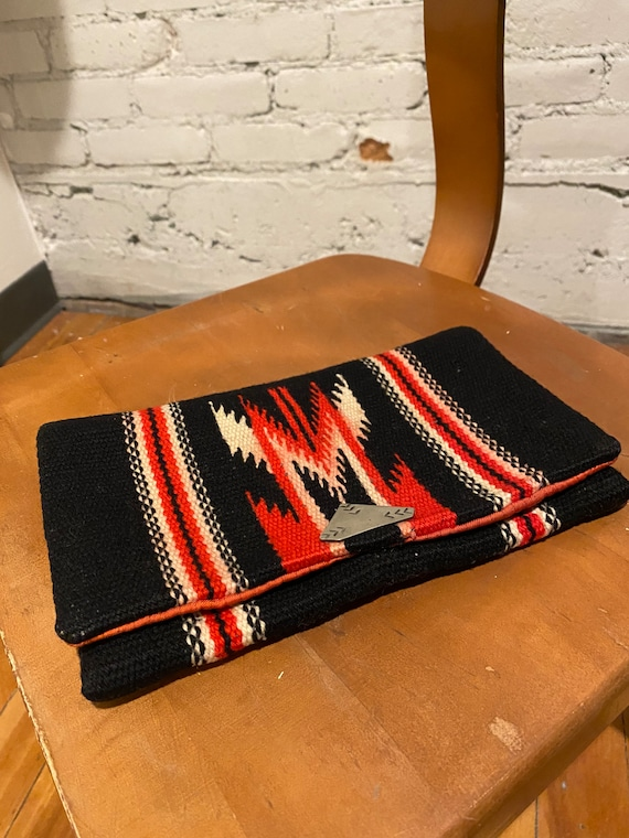 1930s Chimayo Clutch with Silver Clasp