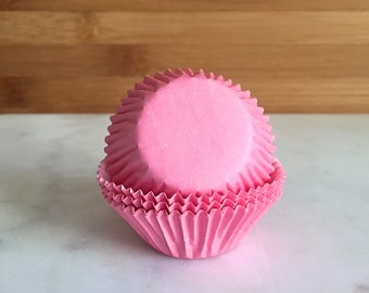 286c63b8573 MINI Baby Pink Green Color Cupcake Liners