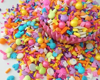 Easter Party Sprinkle Mix, Cupcake Sprinkles