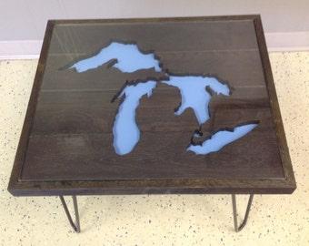 Michigan Great Lakes Table