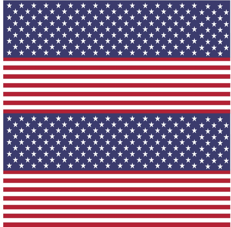 2fefc560d57 American Flag Stars   Stripes Printed Vinyl - Smaller Scale - Choose From  Adhesive Vinyl