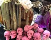 Magic Potion mini skull wax melts goth Halloween Samhain witchcraft wicca pagan tarts