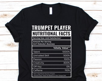 The evolution of a trumpet player Kids Printed T-Shirt