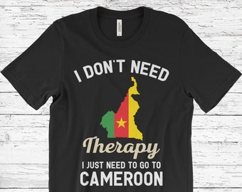 CAMEROON Football Soccer Flag Adult T-Shirt All Sizes