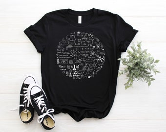Science Ladies T-Shirt Funny Hobby Gift Idea Teacher Scientist Lecturer Physics