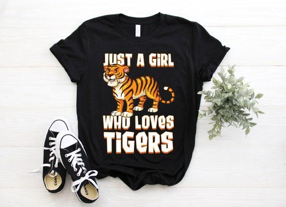 Tiger Tshirt || Watercolor Tiger T Shirt || Women's T Shirt
