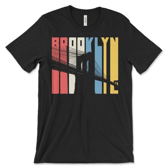 Brooklyn Men/'s Cotton T-Shirt New York Lifestyle Brooklyn Bridge