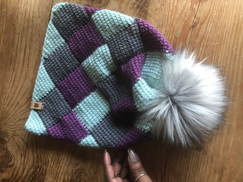 The Jester Crocheted Beanie
