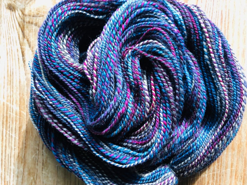 150 yards  Handspun Polworth from Frabjous Fibers image 0