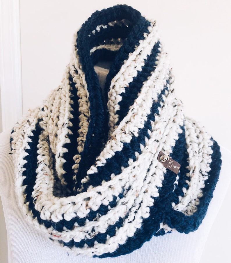Infinity Scarf  Crocheted Scarf image 0
