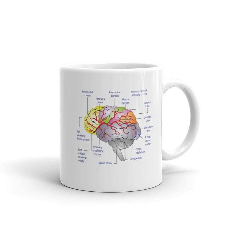 Mental Health is Brain Health Mug image 0