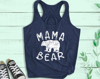 Mothers Day Gift Ideas Tank Top With Saying Mommin/' All Day Err Day Tops For Moms Summer Apparel For Women New Mom Gift Mom Life Shirt