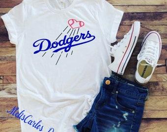 La dodgers shirt | Etsy