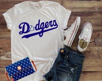 Dodgers shirt | Etsy