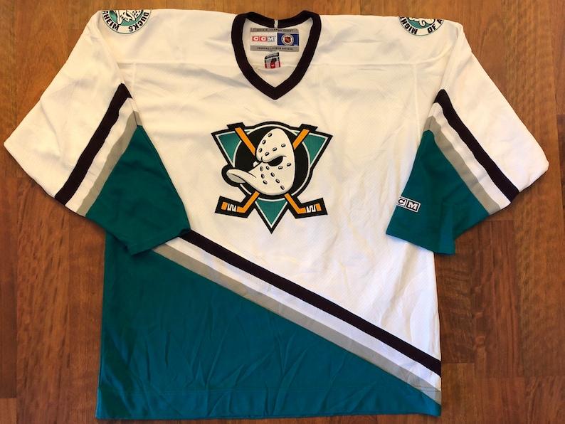 fa1f37560 Vintage CCM Anaheim Mighty Ducks Away Hockey Jersey Size XL | Etsy