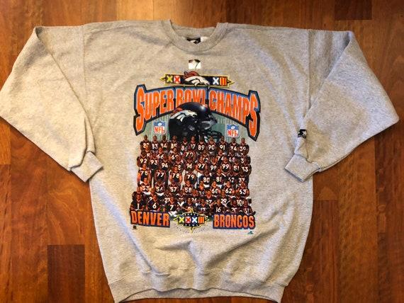 e5e382b030c NWT Vintage 1998 Starter Denver Broncos Super Bowl XXXII Team