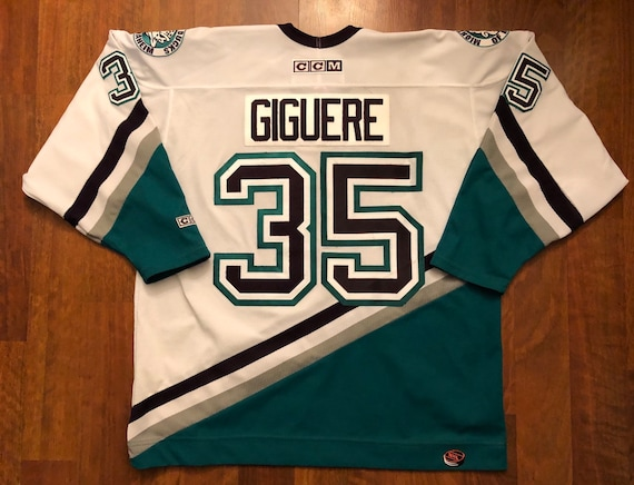 vintage anaheim mighty ducks jersey