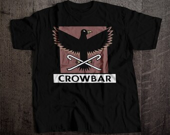 Crowbar SF Bar T-Shirt | Ringspun Unisex and Ladies Fit Tee | Vintage San Francisco Dive Bar Clothing