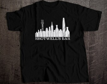 Shotwell's Skyline T-Shirt | Ringspun Unisex and Ladies Fit Tee | Vintage San Francsico Bar and Brewery Label Clothing