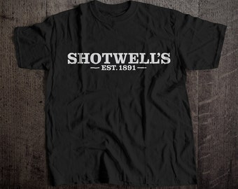 Shotwell's 1891 T-Shirt | Ringspun Unisex and Ladies Fit Tee | Vintage San Francsico Bar and Brewery Label Clothing