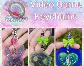 Video Game Keychains