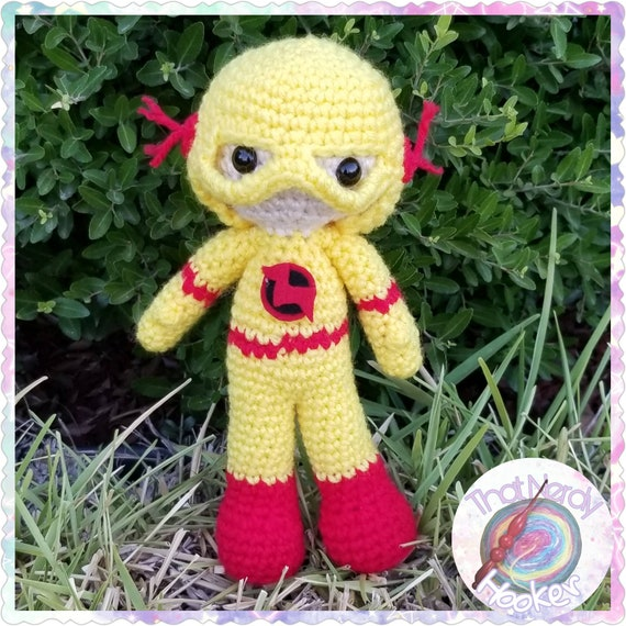Reverse Flash Amigurumi