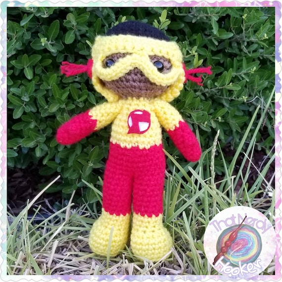 Kid Flash Amigurumi