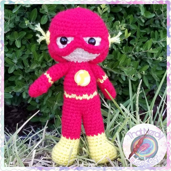 The Flash Amigurumi