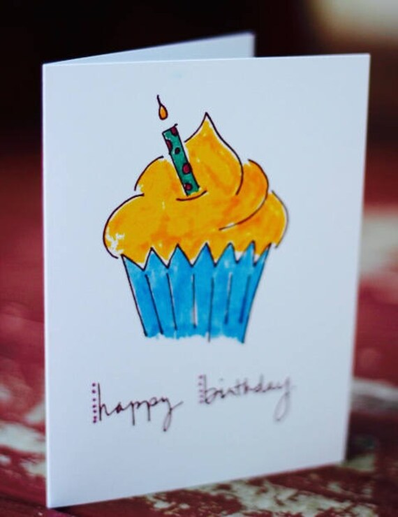 Birthday Cards Pack Of 5 Different Designs Balloons Etsy