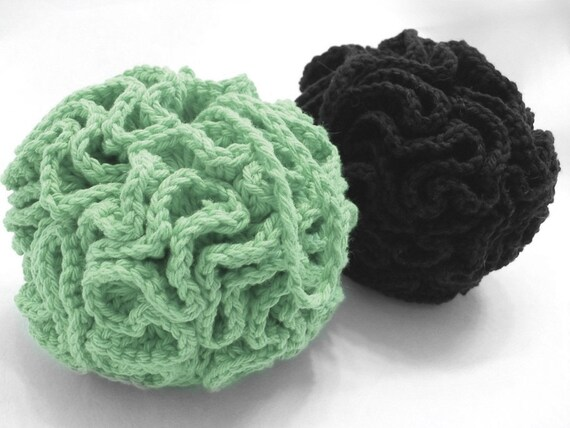 Crochet Bath Pouf Pattern Etsy