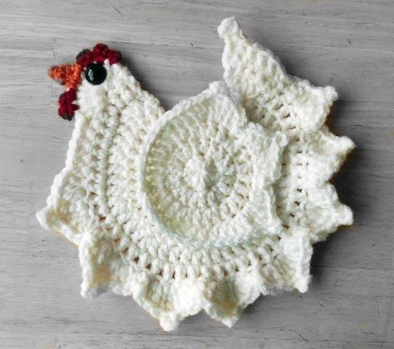 Crochet Chicken Pattern Etsy