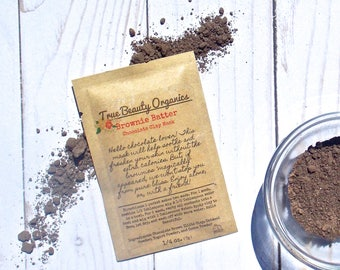 Brownie Batter Chocolate Clay Mask
